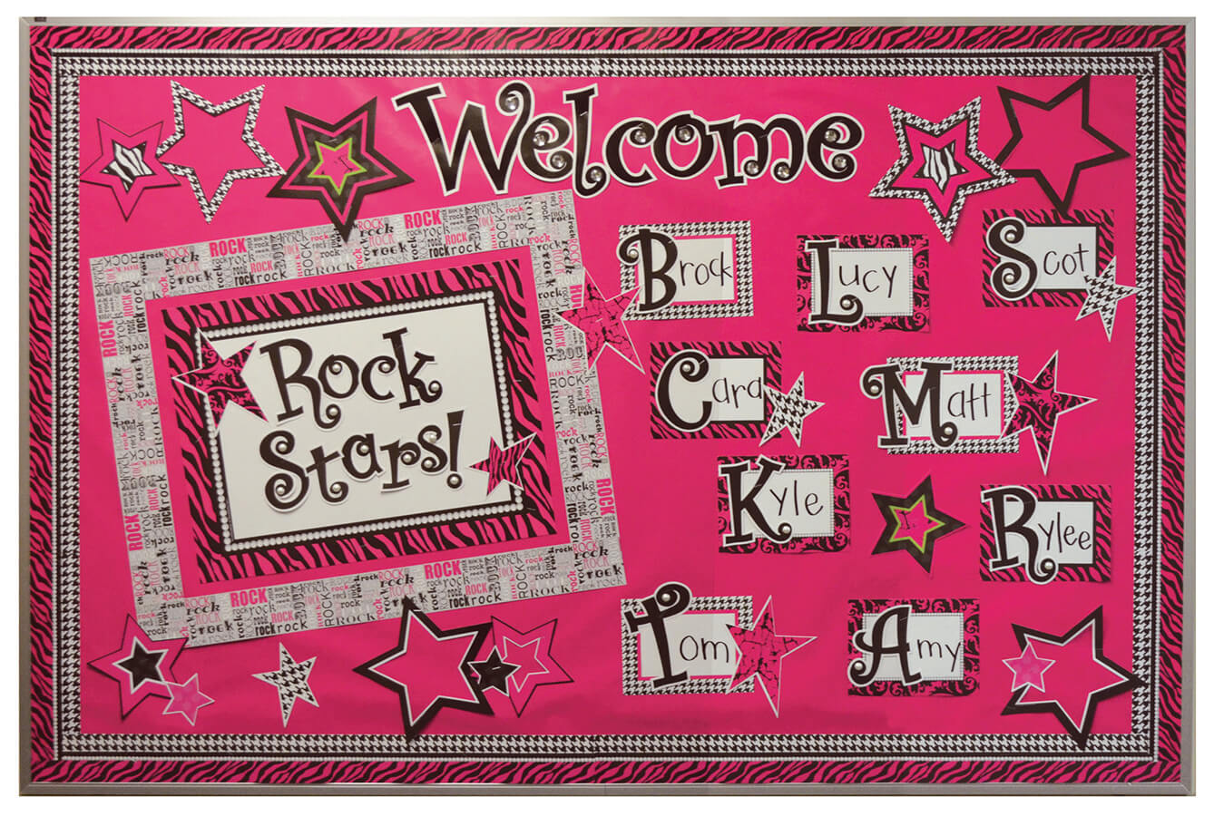 welcome rock stars
