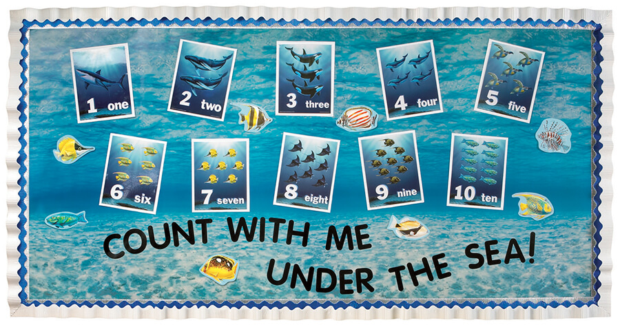Counting with me under the sea!